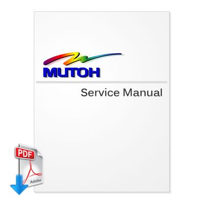 MUTOH Spitfire 65, Spitfire 90 Series Service Manual (NO PARTS LIST) (Direct Download)
