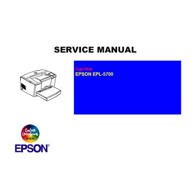 EPSON EPL5700 Printer English Service Manual
