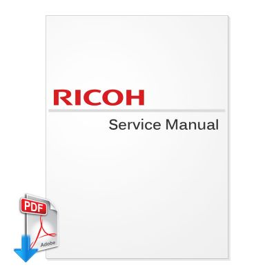 Ricoh Aficio 2105 Service Manual