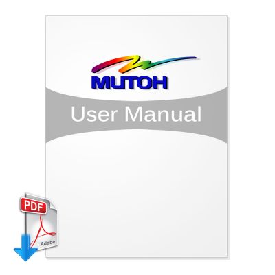 Mutoh ValueJet User Manual (Free Download)