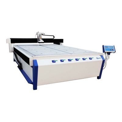 "51"" x 98"" (1300mm x 2500mm) High Precision CNC Router, with 3.7KW Spindle and Vacuum System"