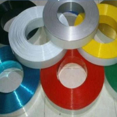 "80mm (3.1"") x 50m (164ft) Color Aluminum Return Coil (With Folded Edge, 2 Rolls / ctn) for Channel Letter Sign Fabrication Making"