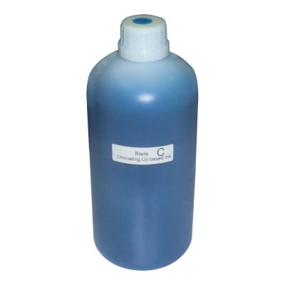 DFP1800 Flatbed Printer Uncoating Cyan Ink (1000ml/bottle)