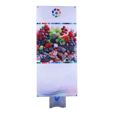 "39.4"" x 78.8"" Outdoor Double Sides Adjustable Banner Stand with Water Base (FREE PRINT)"