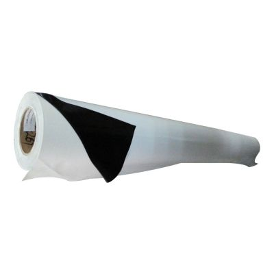 "50"" (1.27m) Black Glue Self-adhesive Vinyl Film/Vehicle Wrap(One year warranty)"