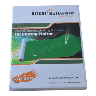 Artcut 2009 Basic Cutting Plotting Software, Traditional Chinese Version