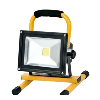 4 Hours 20W LED Portable Flood Light Outdoor Landscape Lamp