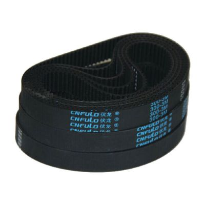 Loop Rubber Timing Belt 327-3M for CO2 Laser Cutter, 15mm Width and 327mm Length, Pitch 3mm