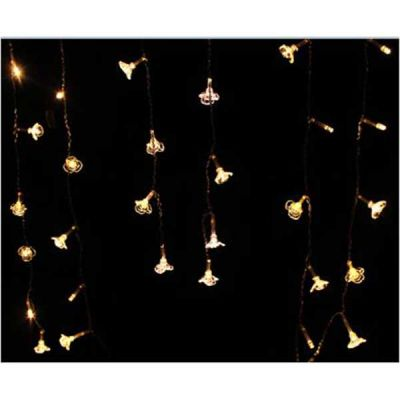 4m 122 LEDS Icicle Light Curtain Party Festival Christamas Room Decorative Light