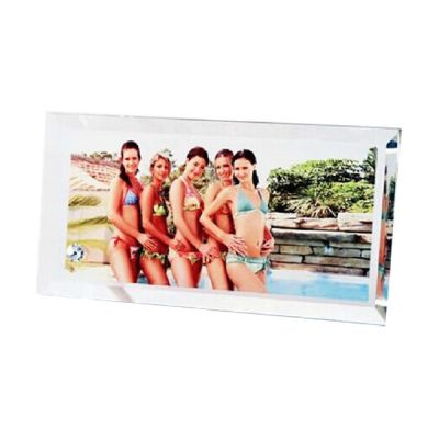 "4.7"" x 9"" Rectangle Sublimation Blank Glass Photo Frame"