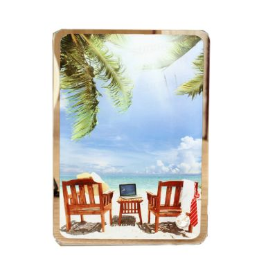 "7"" x 5"" Sublimation Blank Glass Photo Frame"