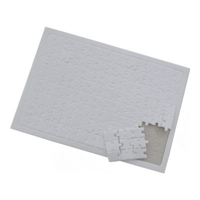 "8.2"" x 11.4"" Pearlescent Rectangle Dye Sublimation Blank Jigsaw Puzzle Child DIY Games Toy Heat Transfer 20pcs/pack"