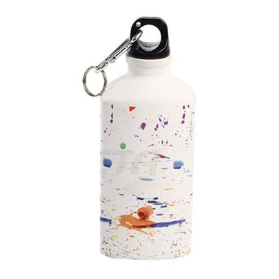 500ml Blank Aluminum Sports Bottle for Sublimation Printing, Triangle Bottle