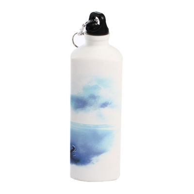 750ml Blank Aluminum Sports Bottle for Sublimation Printing, Triangle Bottle