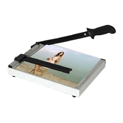 A4 Desktop Manual Photo Guilotine Stack Paper Cutter Trimmer