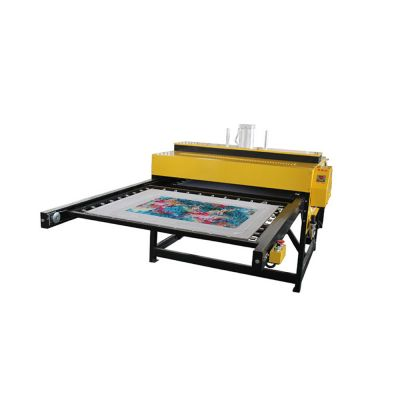 "Door to Door Service 24""X31""(600X800mm) Double Layer Pneumatic T-shirt  Heat Press Machine"