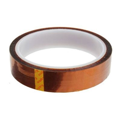 30mm X 100FT 3D Sublimation Kapton Tape, Heat Resistance Proof Tape for Heat Transfer Print