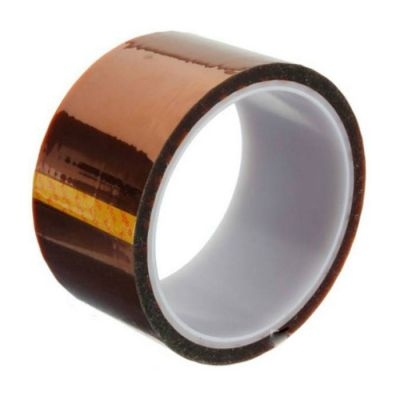 40mm X 100FT 3D Sublimation Kapton Tape, Heat Resistance Proof Tape for Heat Transfer Print