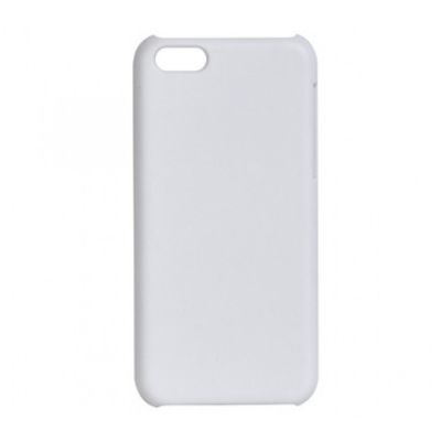 3D Sublimation White IPhone 5C Blank Cell Phone Case Cover for Heat Transfer Printing