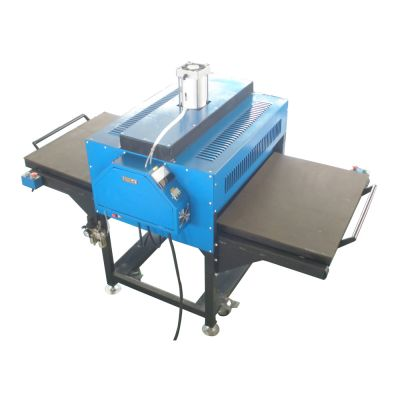 "24"" x 31"" Auto Pneumatic Double Working Table T-shirt Heat Press Machine with Pull-out Style"