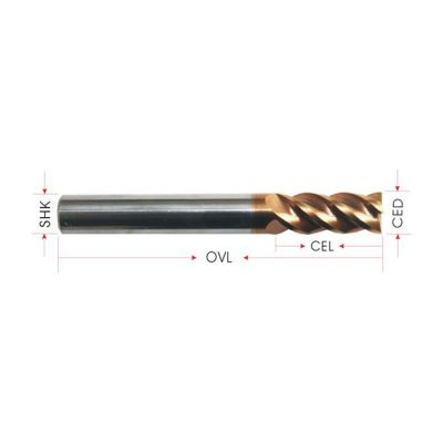 4 Flutes Highlight EndMills for Stainless Steel