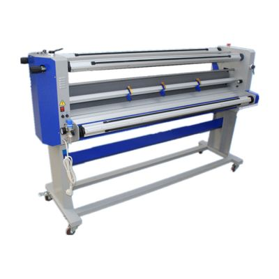 "Ving 67"" Full - auto Single-Side Wide Format Hot and Cold Laminator With Trimmer"