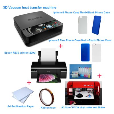 Professional Phone Case Sublimation Heat Transfer Press Printing Solution
