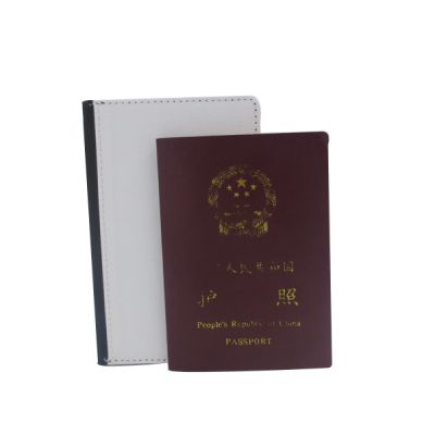 Blank for Sublimation PU Leather Passport Holder