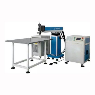 300W YAG Laser Welding Machine for Metal Channel Letter Making, Z Axis Height Adjustable