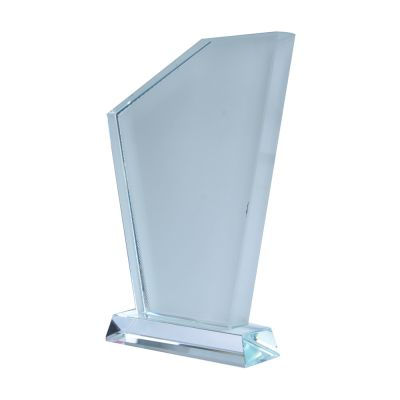 Sublimation Coating Blank Crystal Triangle Screen