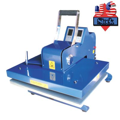 "US Stock-16"" x 20"" 110V High Quality Swing-away Manual T-shirt Heat Press Machine"