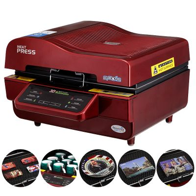 Ving 3d Sublimation Heat Press Machine For Phone Cases