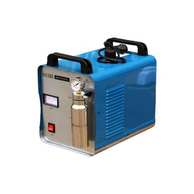 Ving 300W Portable Oxygen Hydrogen Flame Generator Acrylic Polishing Machine, 95L 2 Gas Torches free, 110V