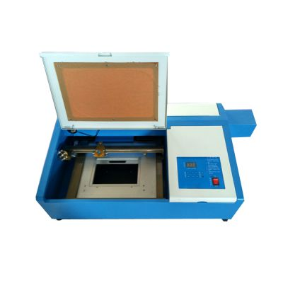 Desktop 50W 300mm x 200mm Mini CO2 Laser Engraving Cutting Machine with Up and Down Table