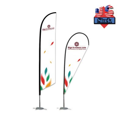 US Stock-10FT Pole With Cross Base Flag Banner Stand(Only Pole)