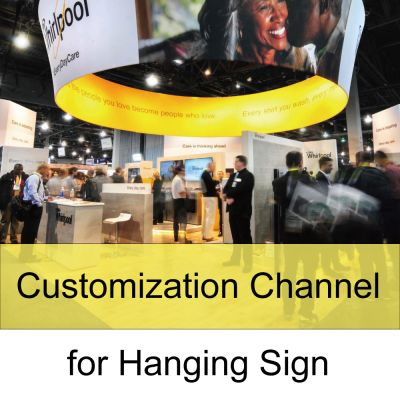 Customization Channel for Hanging Sign