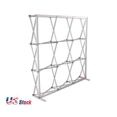 Clearance Sale! US Stock-10FT Curved Magnetic Pop Up Display (Frame Only)