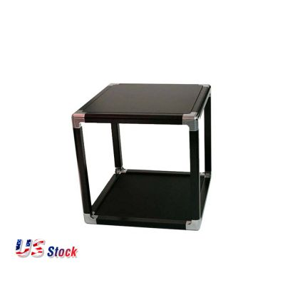 "Clearance Sale! US Stock-24"" Magnetic Merchandising Cube Black Frame"