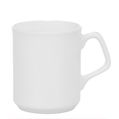 9 OZ Coating White Mug with Special Handle for Sublimation Printing