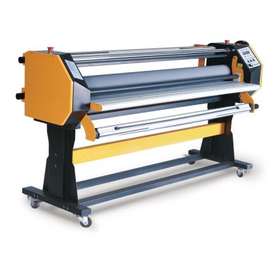 "Door to Door Service Ving 67"" Stand Frame Full-auto Single Side Wide Format Hot/Cold Laminator with Stand"