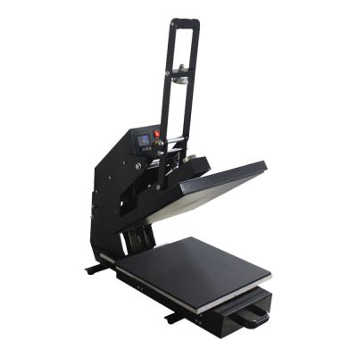 "Ving 15"" x 15"" Auto Open Heat Press Machine with Slide Out Style"
