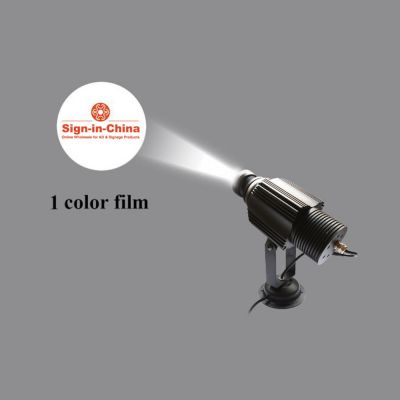 high quality 30w led static gobo outdoor advertising logo projector light single color. Black Bedroom Furniture Sets. Home Design Ideas