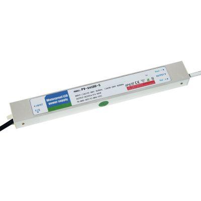 ultrathin outdoor waterproof transformer power supply adapter led