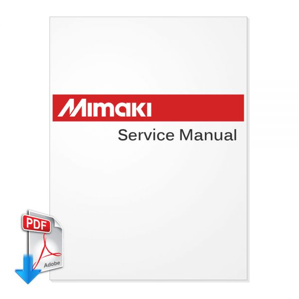 Mimaki jv33-160-130 maintenance manual d500346.
