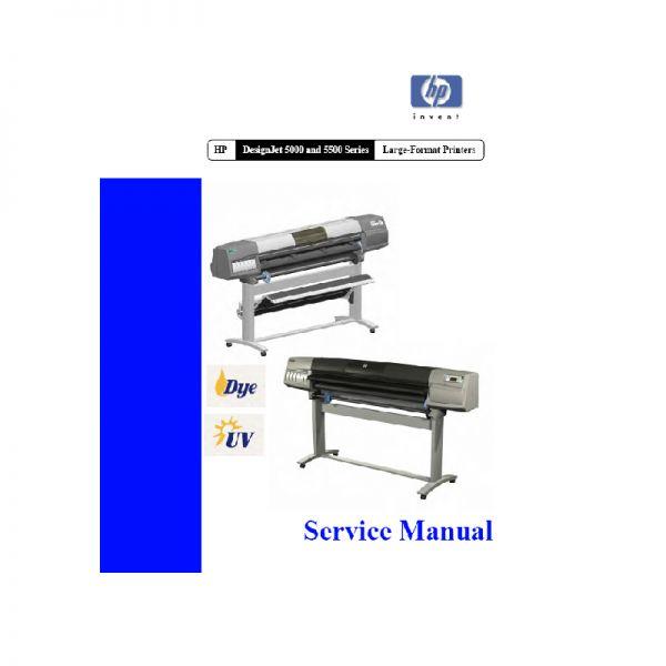 free download hp designjet 5000 5500 large formart printer plotter english service manual sign hp designjet 5000ps service manual hp designjet 5000 service manual