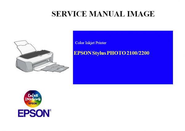 Free Download Epson Stylus Photo 2100 2200 Printer English
