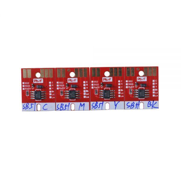 Chip Permanent for Mimaki JV33 SB52 Cartridge 4 Colors CMYK New Version