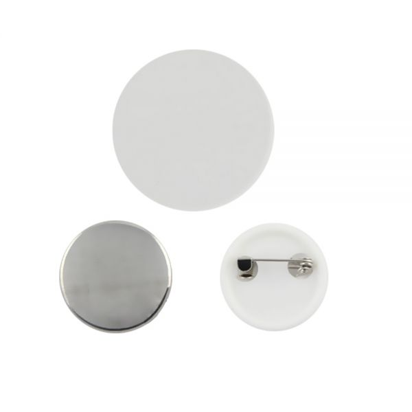 [$ 24 09] 1000pcs 25mm Blank Pin Badge Button Supplies for Badge Maker  Machine