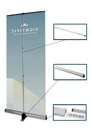 High Quality Dismountable Base Roll Up Banner Stand (33