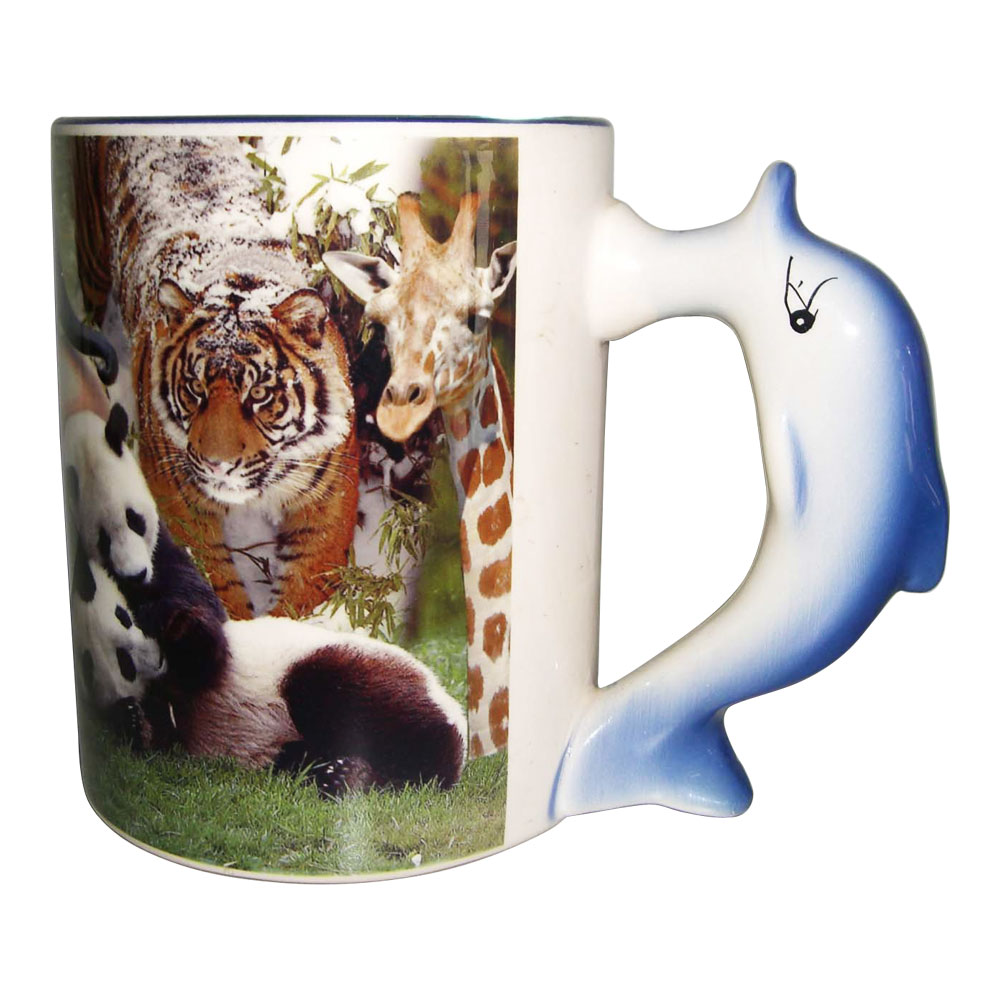 11OZ  Sublimation Animal Mug